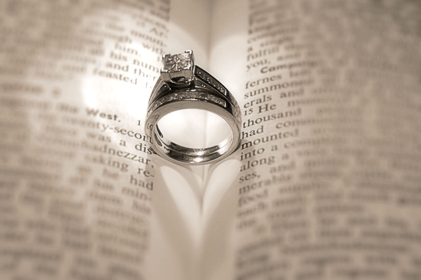 Image of the Day Wedding Rings Kerstenbeck Photographic Art